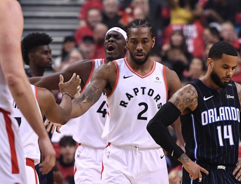 NBA季后赛 / 猛龙大胜魔术晋级次轮