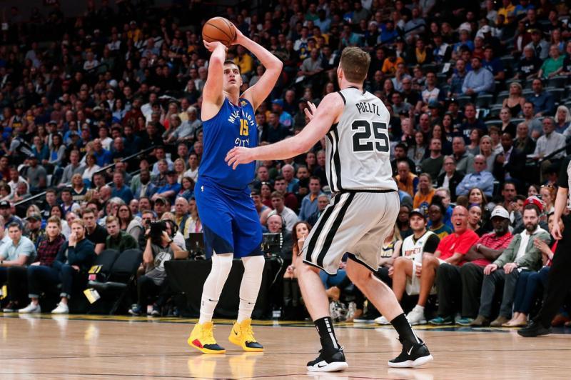 NBA季后赛 / 掘金擒马刺大比分3-2