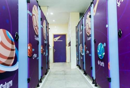 杭州一所小学的厕所 竟成学生争相打卡景点