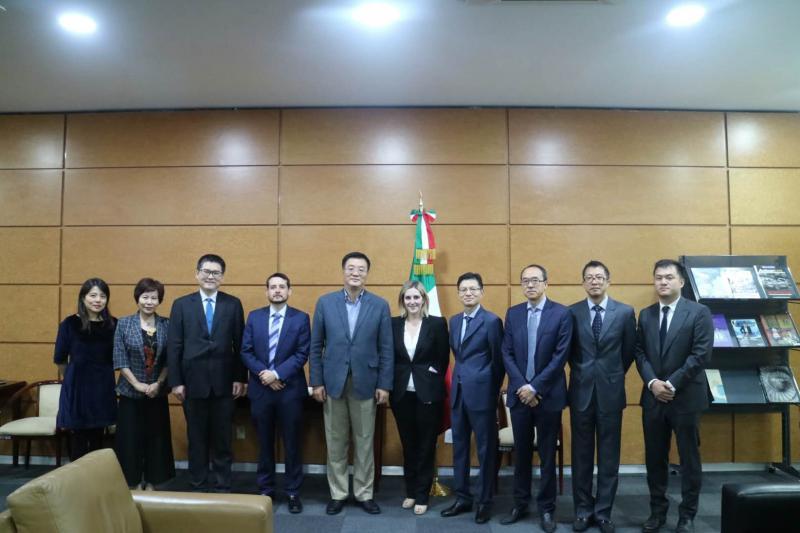 祝青橋接替邱小琪任中國駐墨西哥大使 此前掛任珠海市委常委