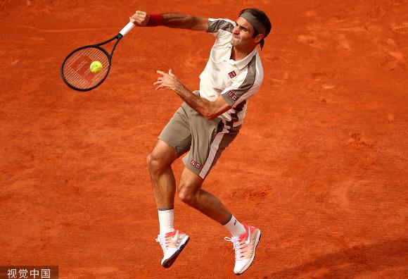 費德勒迫近另類紀錄進法網32強 錦織圭勝特松加