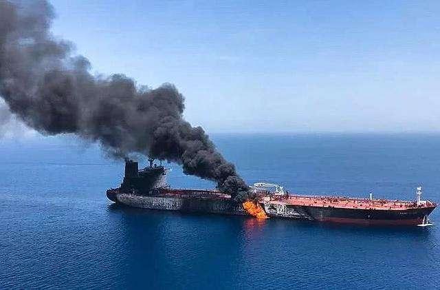 油轮再次遇袭推高美伊冲突风险