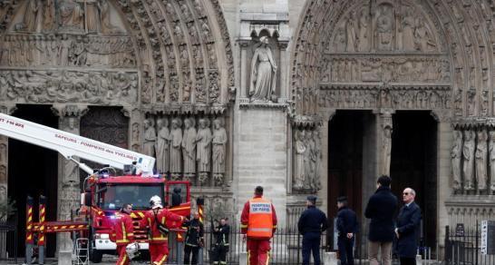 巴黎首席檢察官:巴黎圣母院火災排除人為縱火犯罪可能