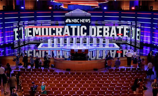 2020年美國大選:民主黨初選辯論正在進行