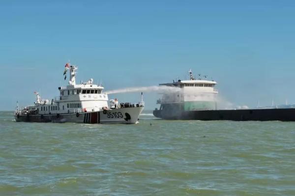 中国海警局今天起开通95110海上报警电话