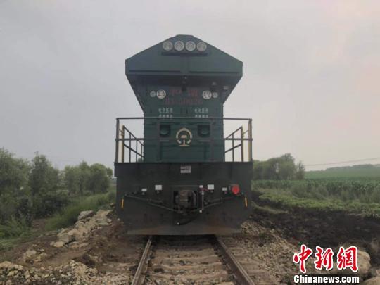 黑龙江富嫩铁路线水害区段恢复开通
