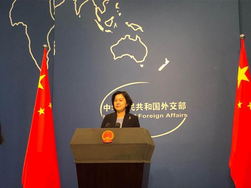 外交部:中方自即日起对布朗巴克等4名美国官员实施制裁