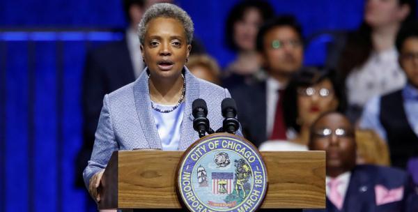 视界 / 芝加哥首位非洲裔女市长正式宣誓就职